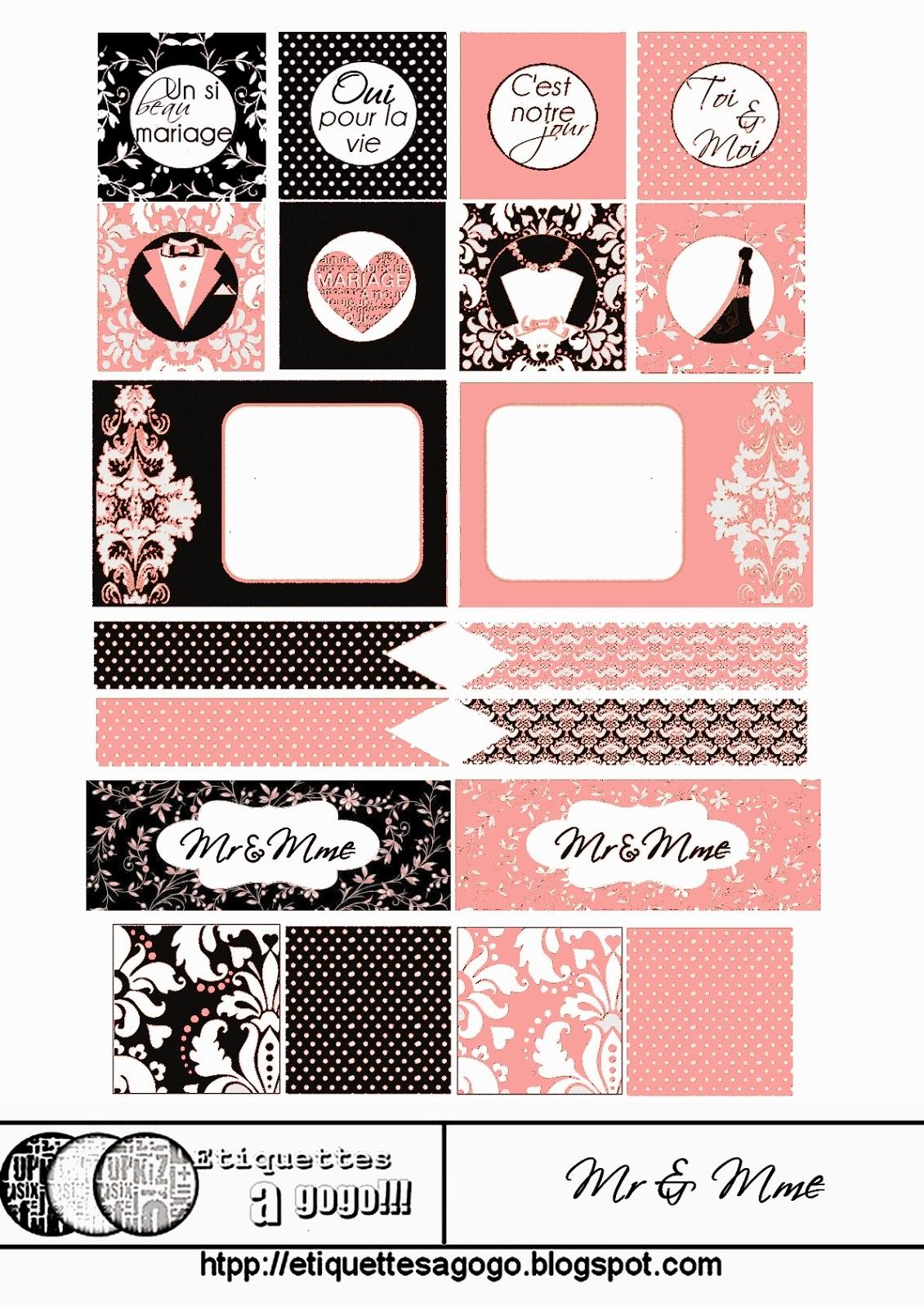 Bodas: Etiquetas de Diferentes Colores para Imprimir Gratis. | Ideas ...