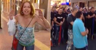Βολιώτισσα τα χώνει σε χρυσαυγίτες: «Ντροπή σας. Είσαστε φασίστες.»