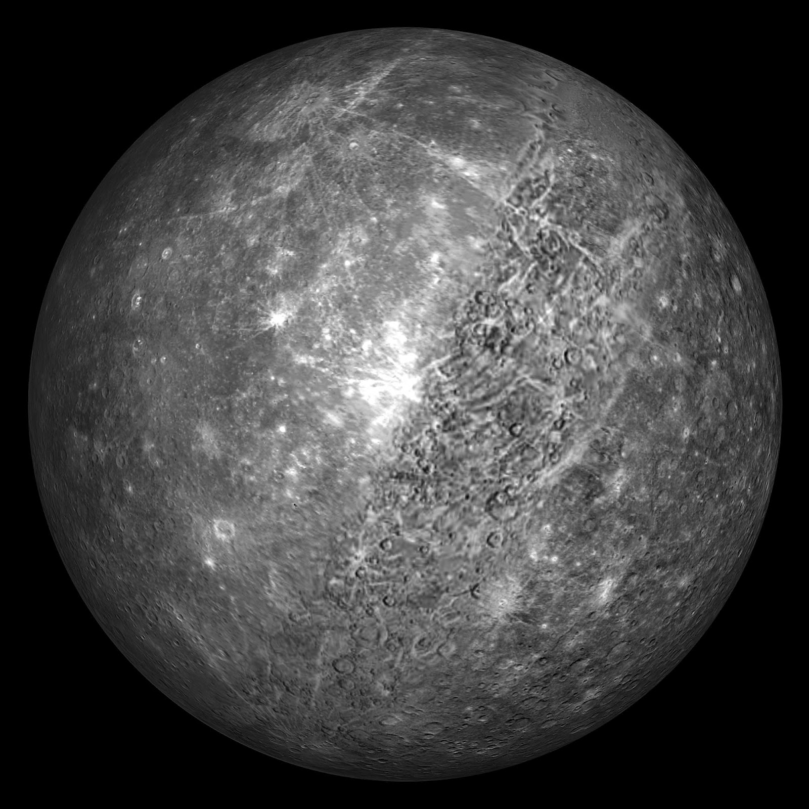 The Real Mercury Planet Color - Pics about space