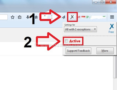 Cara menyembunyikan alamat IP tanpa software 3