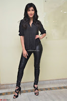 Shruti Haasan Looks Stunning trendy cool in Black relaxed Shirt and Tight Leather Pants ~ .com Exclusive Pics 085.jpg