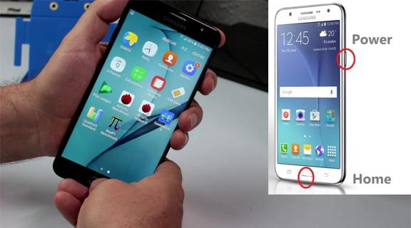 Cara Screenshot Samsung Galaxy J7 Prime Terbaru