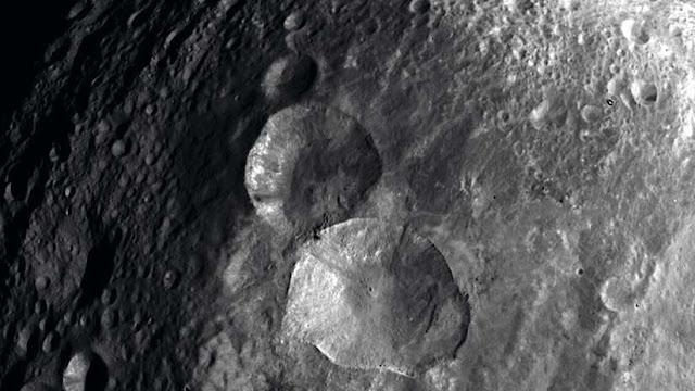 La NASA comparte la imagen de un 'muñeco de nieve' en la superficie de un asteroide
