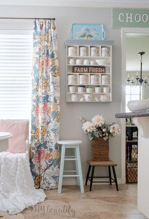 feminine farmhouse kitchen decor