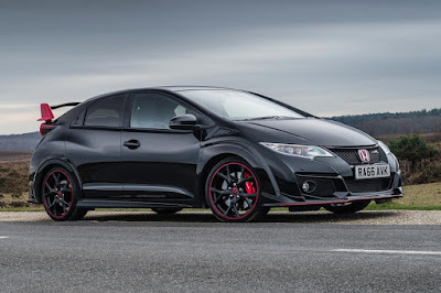Honda Civic Type R Black Edition (2016) Front Side