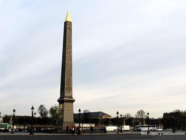 Place de la Concorde, Plaza de la Concordia, París