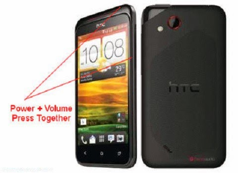 Hard Reset any HTC Mobile without Password image photo