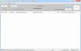 Cara Flash Terbaru Oppo F1 via MSM Download Tool