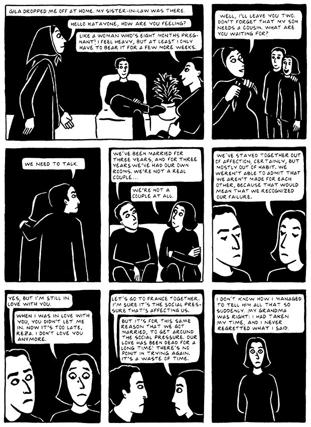 Read Chapter 19 - The End, page 184, from Marjane Satrapi's Persepolis 2 - The Story of a Return
