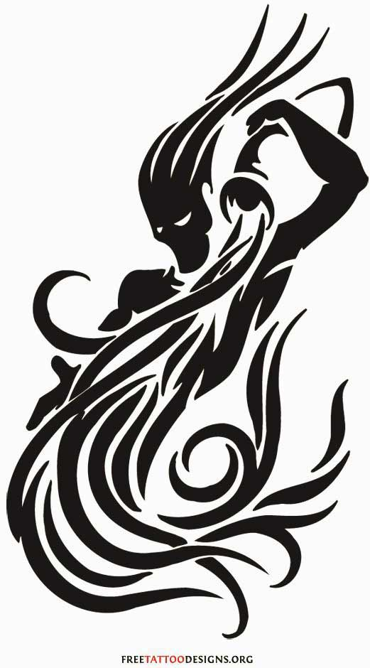 Best Aquarius symbol tattoo with dragon