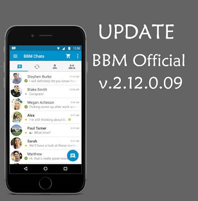 Update BBM Official Versi 2.12.0.09
