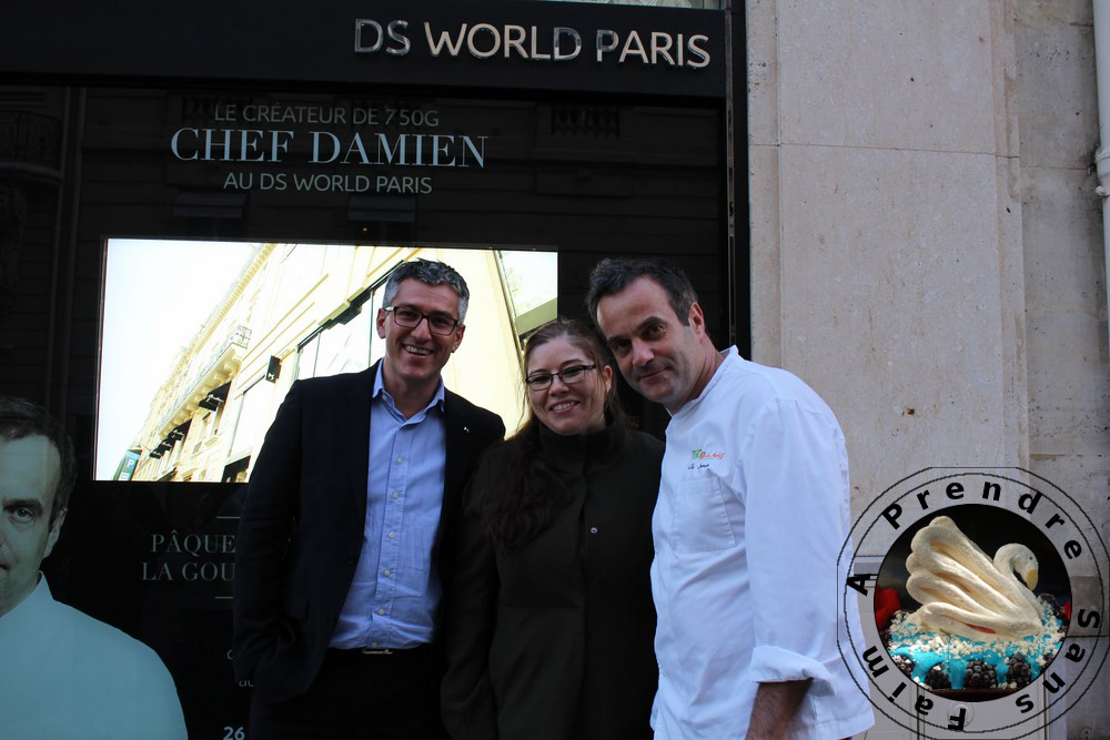 """La DéeSse"" de Chef Damien en exclusivité au DS World Paris"