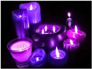 Resultado de imagen para vela purpura