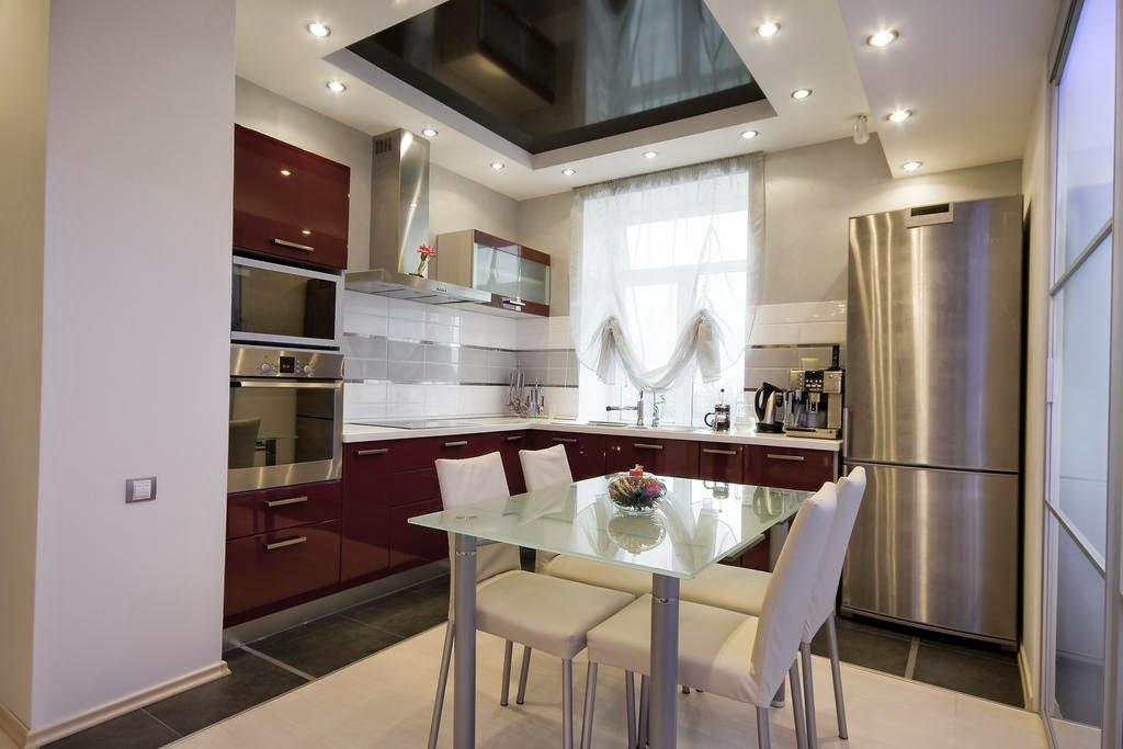 dapur rumah kecil minimalis