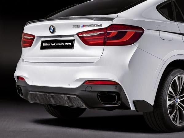 Νέα Αξεσουάρ BMW M Performance για τη BMW X6