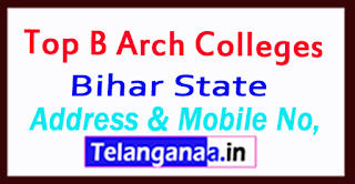 B Arch Colleges in Bihar