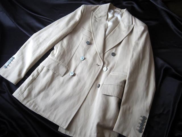マージャーズのダブルブレスト ジャケット