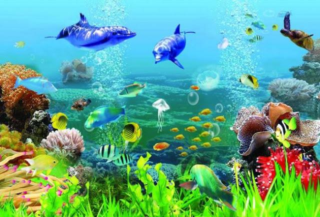 Tranh Thế Giới cá Biển