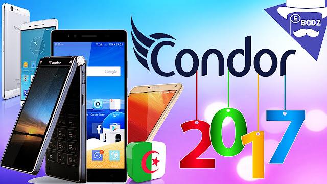 أسعار هواتف كوندور الأكثر مبيعا في الجزائر 2017