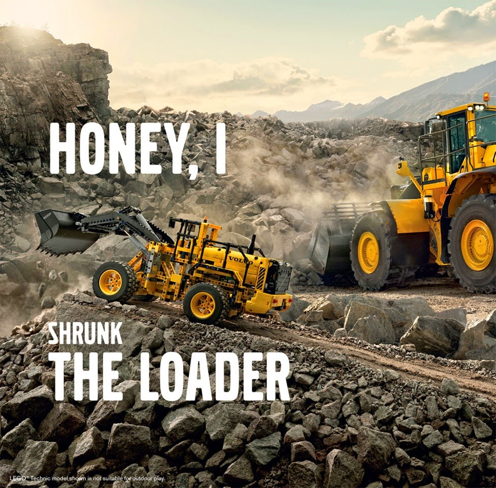 Behind The Design: Lego Technic 42030 Volvo L350F Wheel Loader