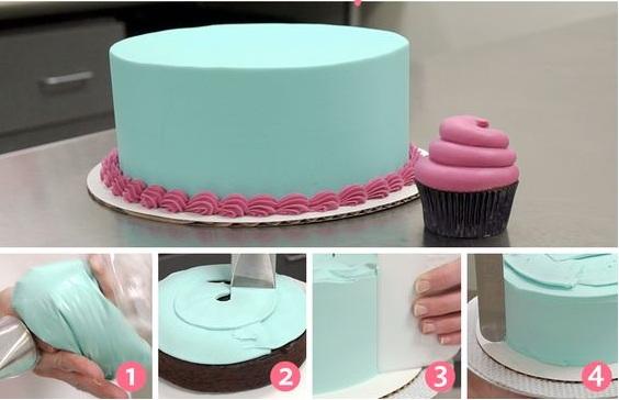 Cara Menghias Kue Tart Ulang Tahun Menggunakan Icing Dan Fondant