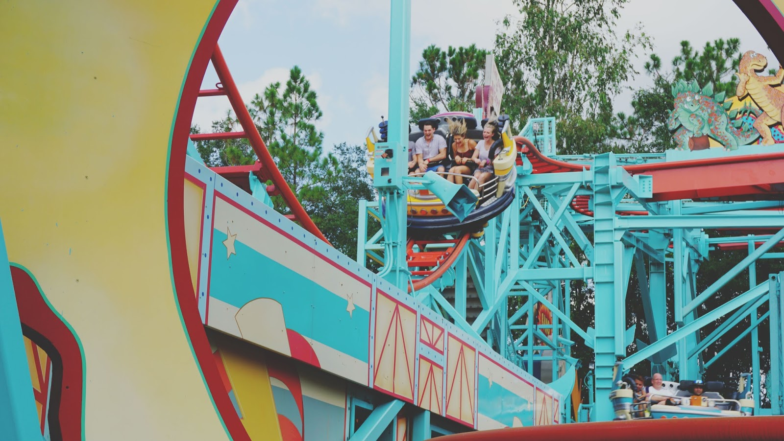 Primeval Whirl at Animal Kingdom in Disney World, Florida