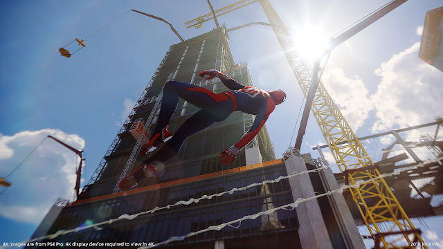 """Marvel's Spider-Man"" Hot GAME PlayStation 4 năm 2018"