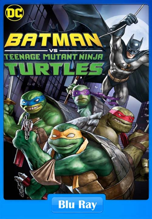 Batman vs Teenage Mutant Ninja Turtles 2019 720p BRRip | 480p 300MB | 100MB HEVC Poster