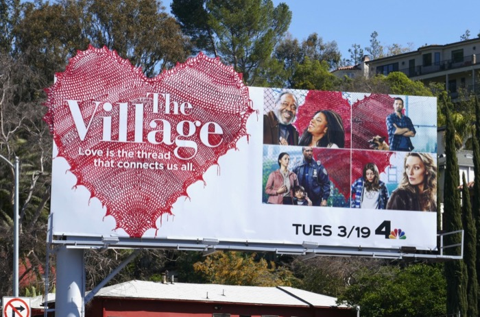Village series premiere billboard