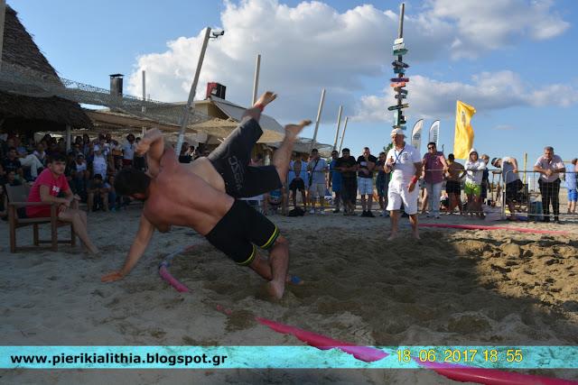 Κατερίνη : Πανελλήνιο Πρωτάθλημα Πάλης στην άμμο. (ΦΩΤΟ)