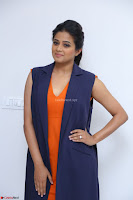 Priyamani in Beautiful Short Deep neck Orange Dress ~  Exclusive 40.JPG