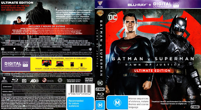 Batman v Superman: Dawn of Justice Bluray