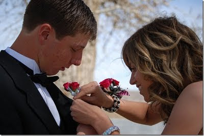 The reason you need a corsage and boutonniere for prom