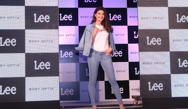 Lee Jeans unveils Jacqueline Fernandez as their Brand Ambassador!