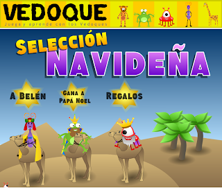 Actividades Para Educacion Infantil Juegos Navidenos Vedoque