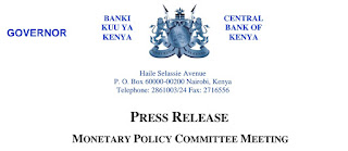 CBK's MPC Meeting