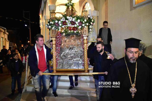 Γιορτάζει ο Ενοριακός Ιερός Ναός στον Ίναχο Άργους-Μυκηνών