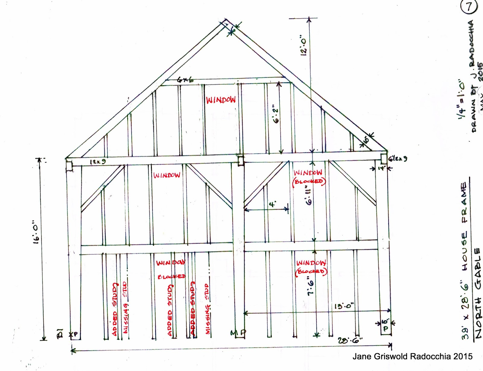 House Framing Diagrams