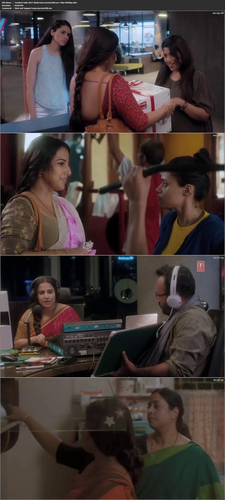 Tumhari Sulu 2017 Hindi Full Movie DVDRip 720p 1GB at movies500.xyz