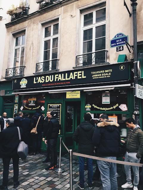 L'As du Fallafel, l'endroit idéal pour manger des fallafels à Paris