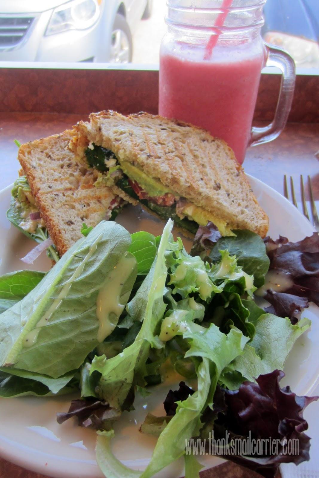 Cafe Maya sandwiches