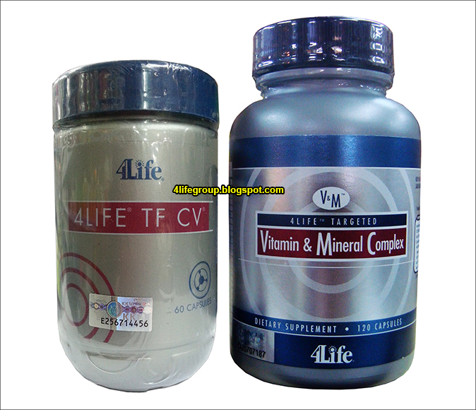 foto 4Life Transfer Factor CV + Targeted Vitamin & Mineral Complex