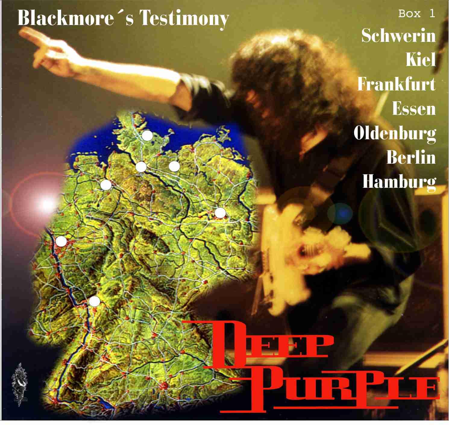 HEAVY ROCK BOOTLEGS Deep Purple 1993 Entire German Tour Blackmore