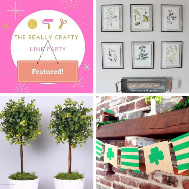 The Really Crafty Link Party #107 featured posts