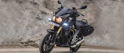 2016 Mahindra Mojo Tourer Edition fog lamp