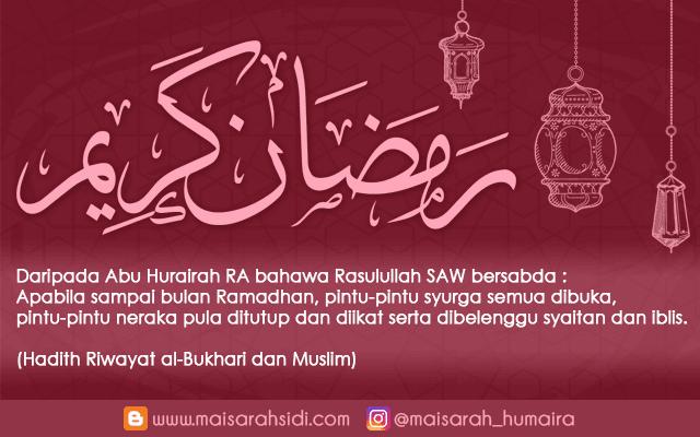 Ramadhan Karim! Bulan Mulia yang Dinanti Kini Tiba