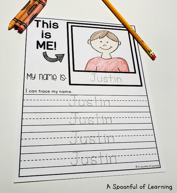 Name Activities - Trace and Write Names 4