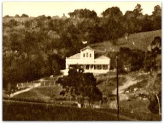 Chácara Mostardeiro (1895) - Hoje, esquina da Rua Dona Laura com a Rua Florêncio Ygartua