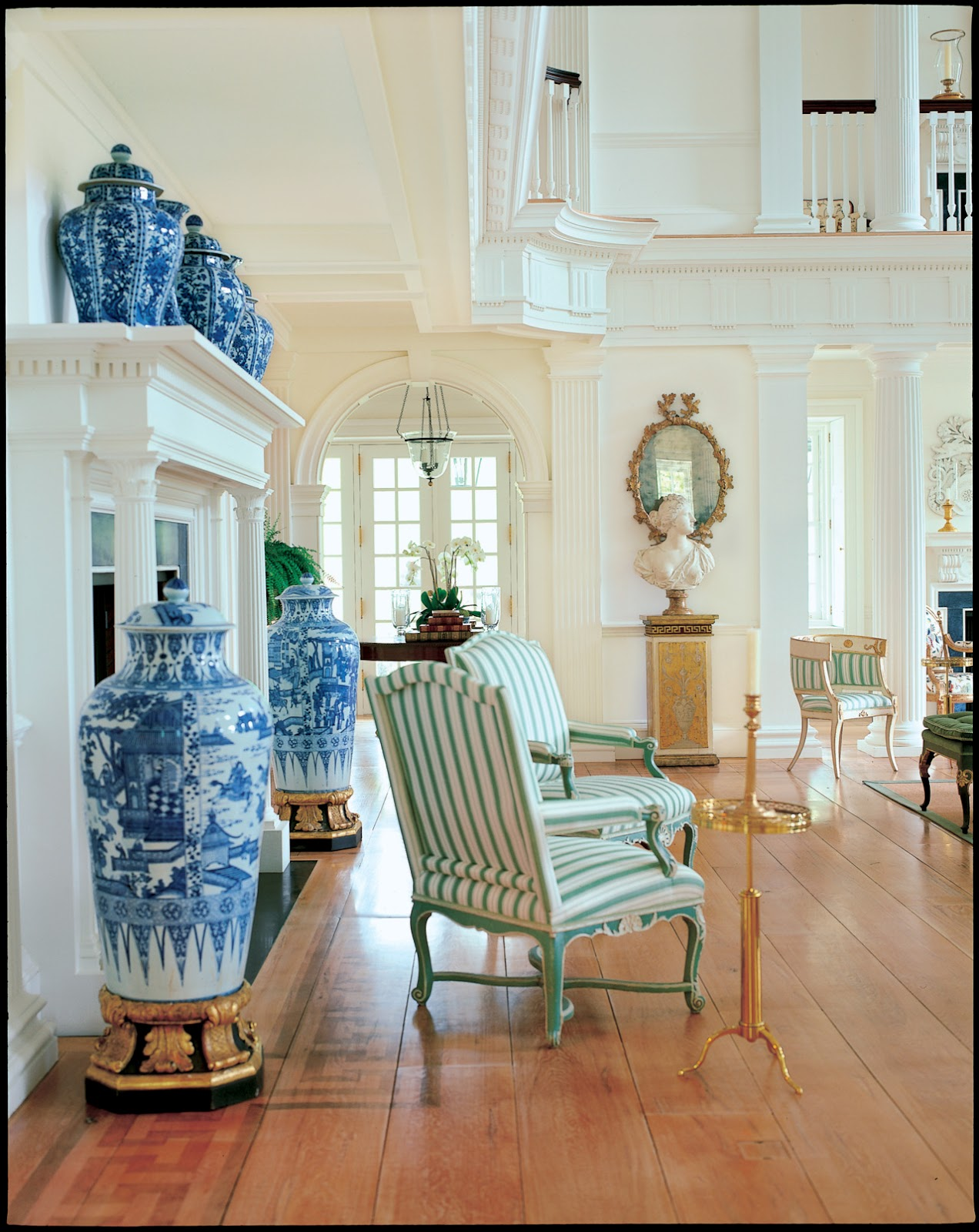 Chinese Ginger Jars Chinoiserie Chic Stripes And Chinoiserie