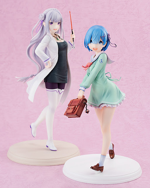 "Rem High School Uniform Ver. 1/7 de ""Re: Zero Kara Hajimeru Isekai Seikatsu"" - Kadokawa"